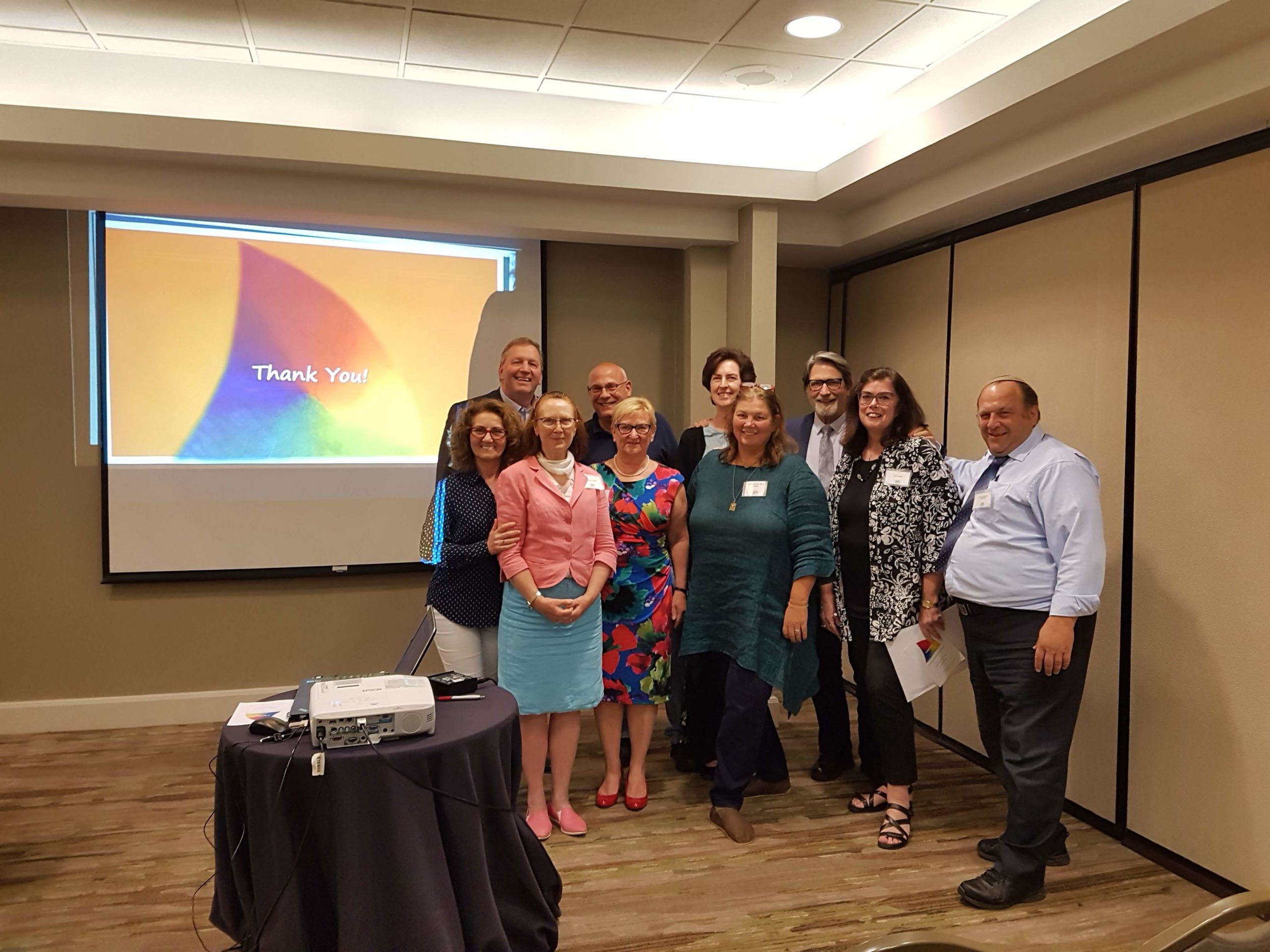 A group from 22 Logotherapy World Congress